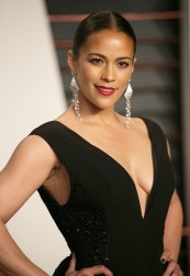 Celebrities attend 2015 Vanity Fair Oscar Party at Wallis Annenberg Center for the Performing Arts with City Hall in Beverly Hills. Featuring: Paula Patton Where: Los Angeles, California, United States When: 22 Feb 2015 Credit: Brian To/WENN.com
